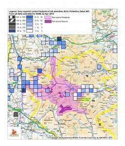 Control footprint & densities 2014 YDNP