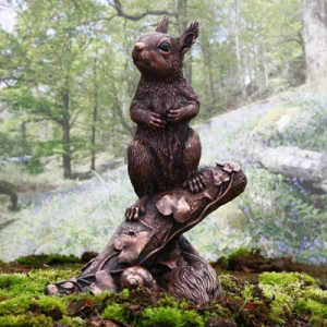George – squirrel kitten in copper